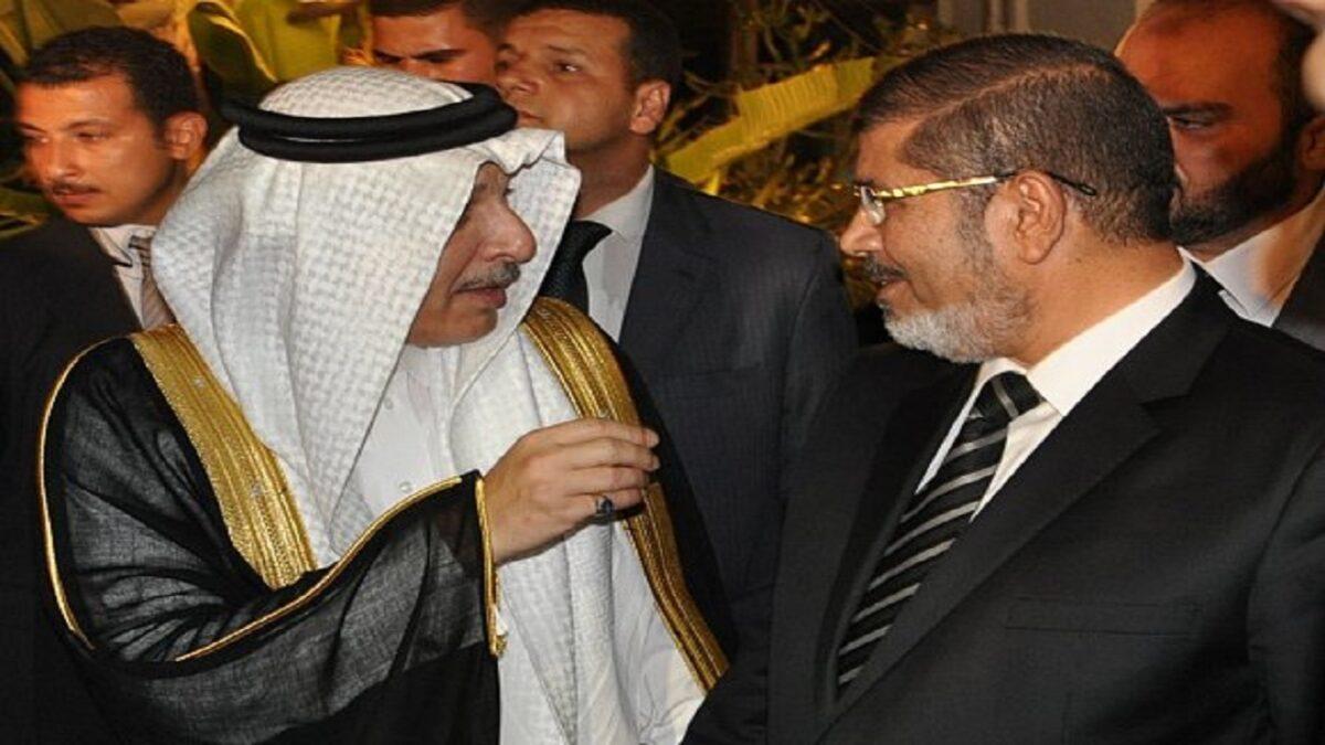 سفير السعودية السابق لدى مصر.. محمد مرسي لم يفز بالرئاسة وأمريكا فرضته