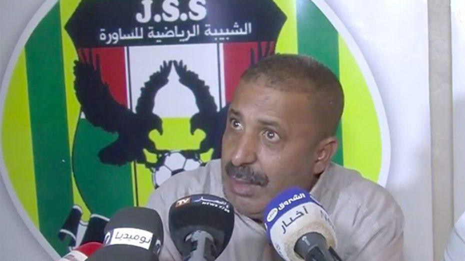 """هل سيكون محمد زرواطي رئيس شبيبة الساورة أحد المرشحين لرئاسة الـ""""فاف""""؟"""
