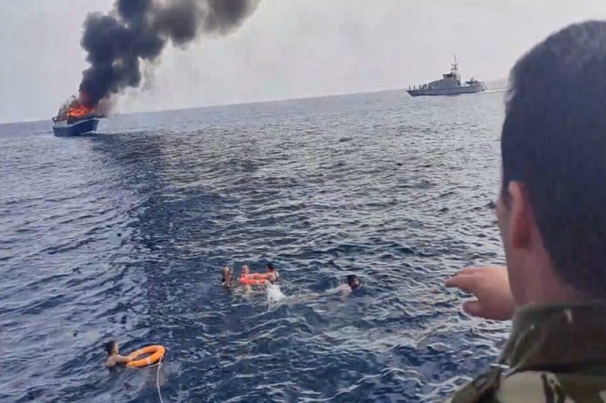 الجيش ينقذ 5 بحارة من الغرق بعنابة