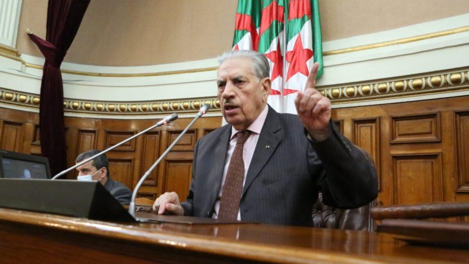 قوجيل يحذر من أطراف تتكالب على الجزائر
