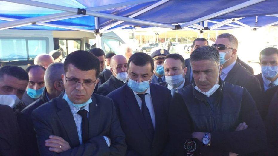 وفد وزاري في زيارة لبجاية