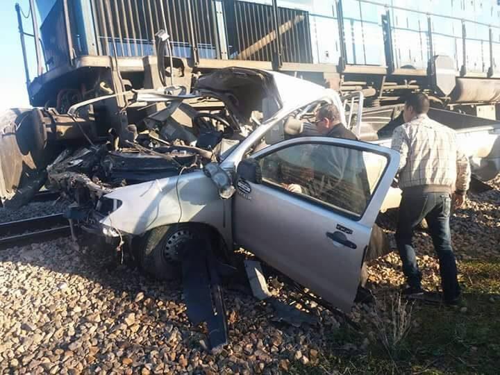وفاة شخص وإصابة 2 في حادث قطار بوهران