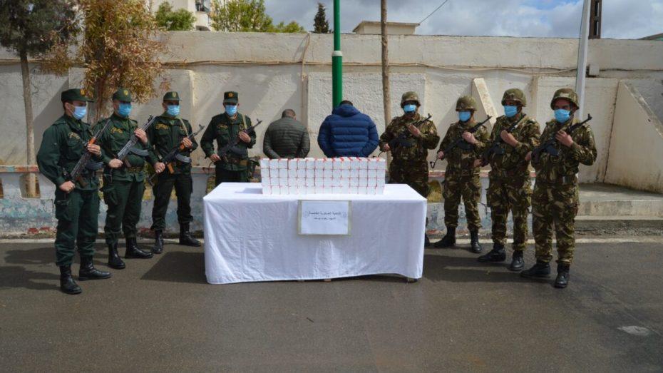 الجيش يضبط 984 كيلوغرام من المخدرات خلال أسبوع