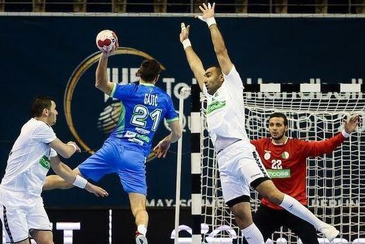 الجزائر تنهزم أمام سلوفينيا في التصفيات المؤهلة لأولمبياد طوكيو