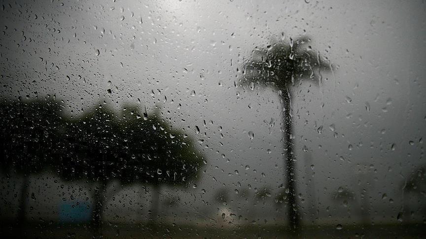 أمطار غزيرة على10 ولايات