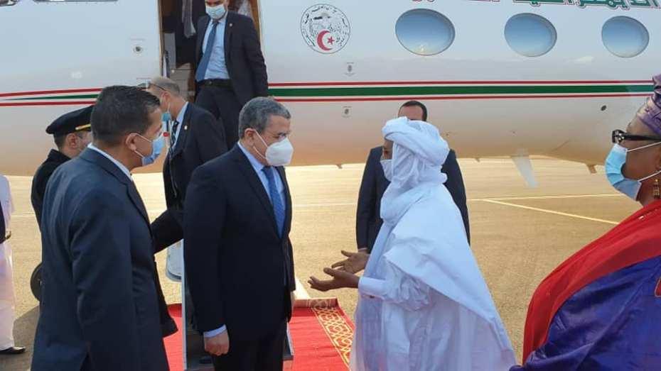 جراد ممثلا لتبون في حفل تنصيب رئيس النيجر