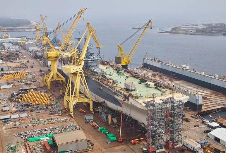 بناء السفن