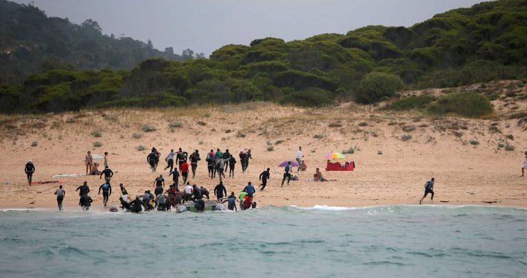 30 قارب لمهاجرين جزائريين وصلوا إلى سواحل ألميريا الإسبانية خلال 48 ساعة