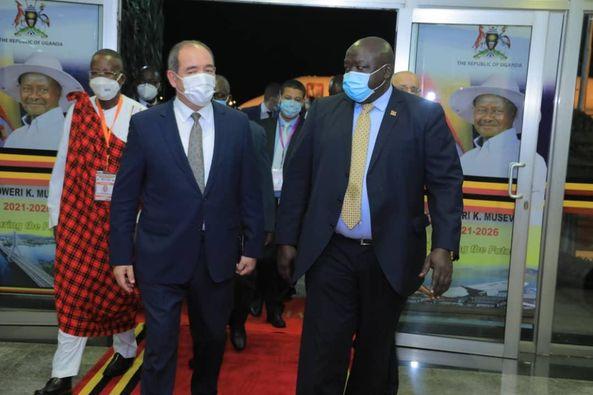 نيابة عن تبون.. بوقادوم يشارك في مراسم تنصيب رئيس أوغندا
