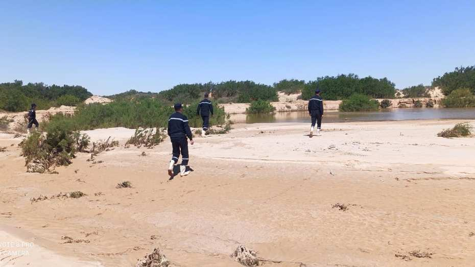 تواصل عملية البحث عن مفقود فيضانات المسيلة