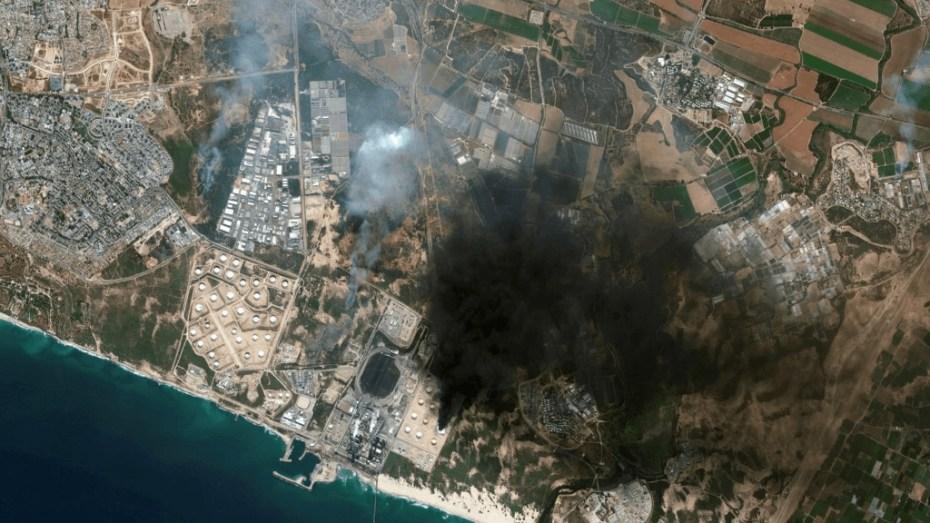 فيديوهات وصور توثق حجم الدمار الذي خلفته صواريخ المقاومة الفلسطينية