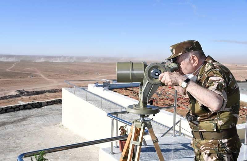 شنقريحة يتفقد الناحية العسكرية الثانية بوهران