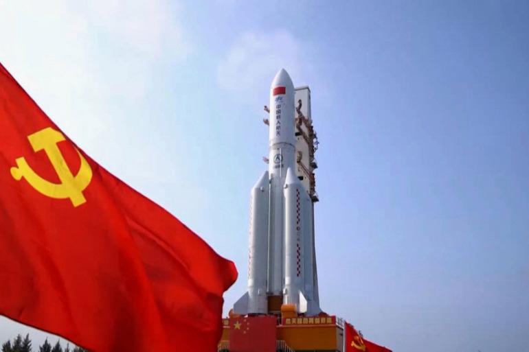 """أول تصريح صيني رسمي حول """"الصاروخ التائه"""""""