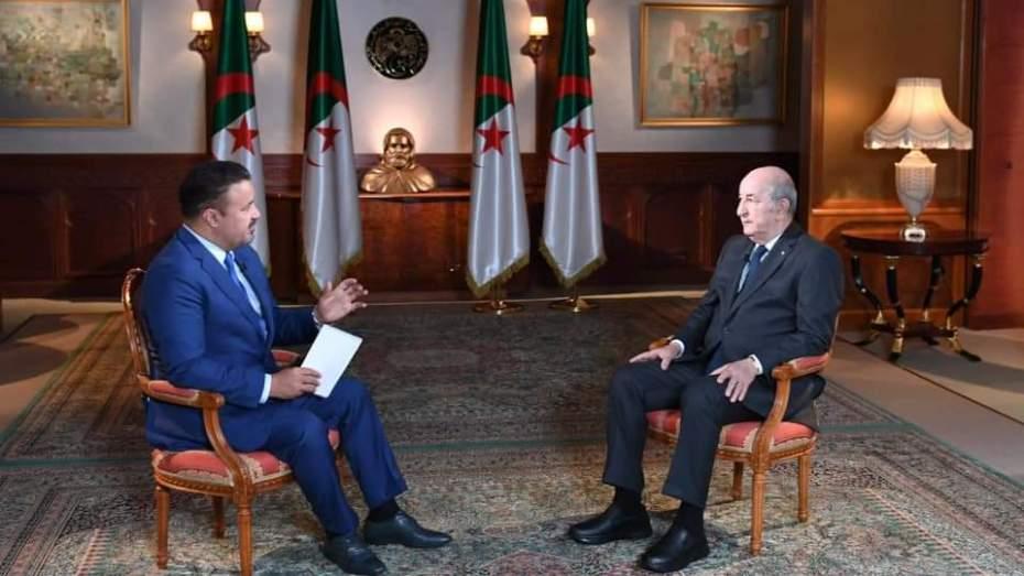 تبون: الجزائر خطيرة ونحن الدولة العربية الوحيدة التي يريدون إسكاتها