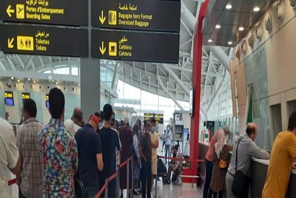 بالصور| تفاصيل أول يوم لعودة الرحلات الجوية من وإلى الجزائر