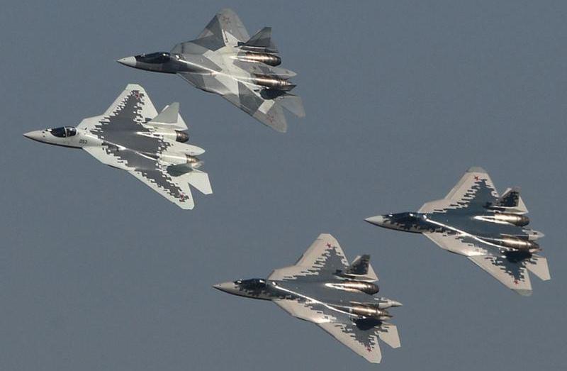 مجلة أمريكية: الجزائر طلبت أول سرب من طائرة الشبح الروسية
