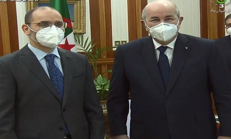 الرئيس تبون يستقبل عبد الرزاق مقري