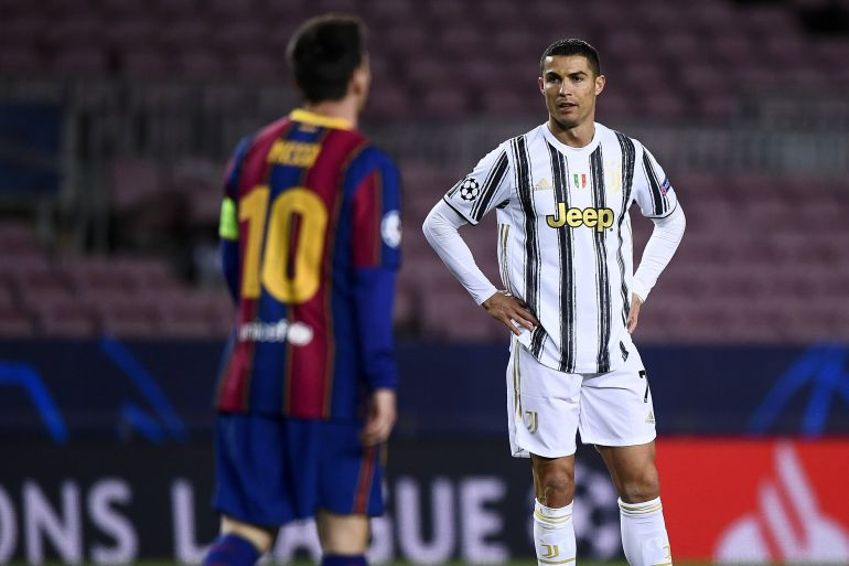 """""""آس"""": صفقة تاريخية.. لابورتا يخطط لضم رونالدو إلى ميسي في برشلونة"""