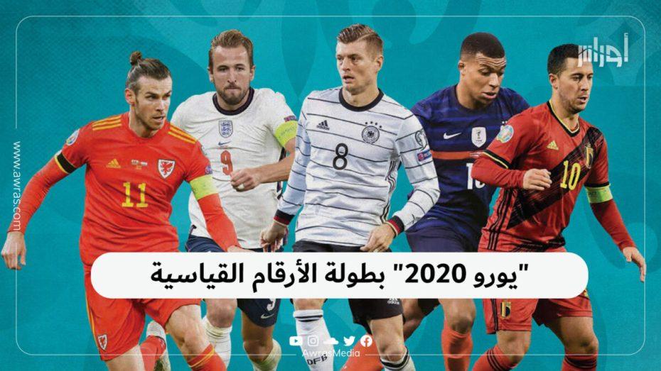 يورو 2020 الأرقام القياسية