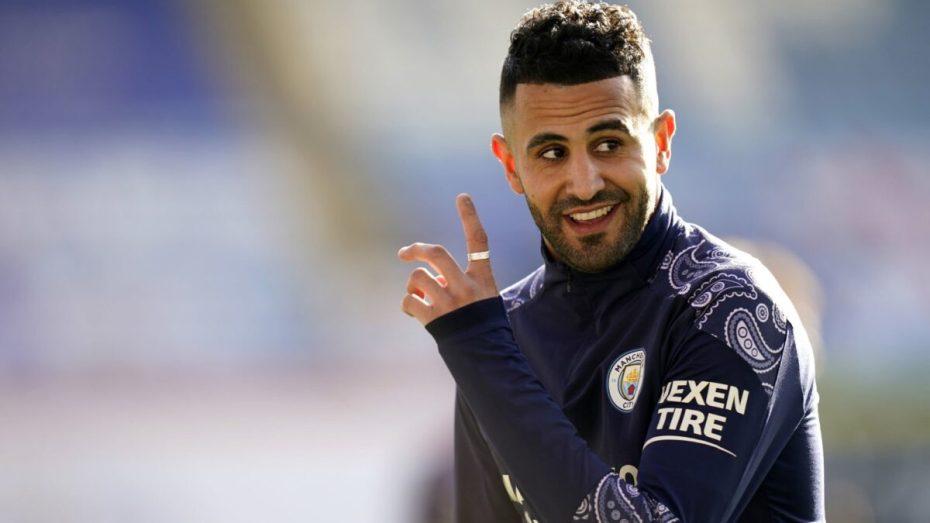 برشلونة يفاوض مانشستر سيتي لضم النجم الجزائري رياض محرز