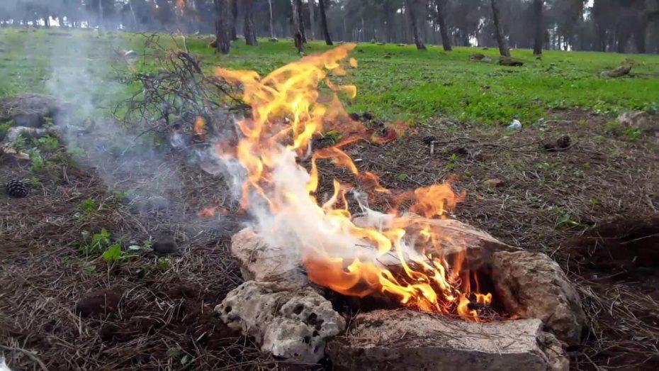 جلسات الشواء تتسبب في اندلاع 26 حريقا يومي العيد