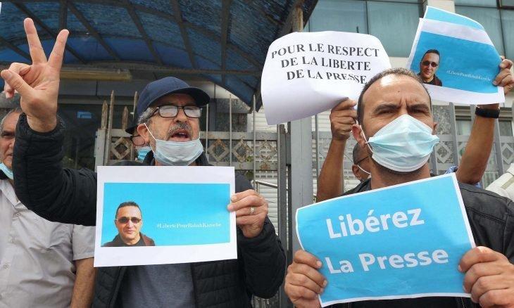 التماس عقوبة بالسجن 3 سنوات مع النفاذ في حق الصحافي رابح كراش