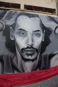 جدارية جمال بن سماعين بمليانة