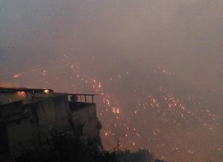 في ثلاثاء سوداء عاشها السكان في تيزي وزو.. هكذا اشتعل فتيل الحرائق