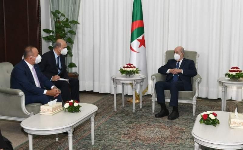 بعد لقائه تبون.. تشاويش أوغلو: موقف الجزائر وتركيا اتجاه الوضع في تونس متطابق