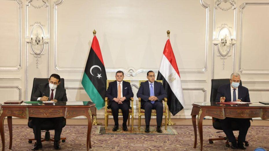 اتفاقيات بمليارات الدولارات بين مصر وليبيا