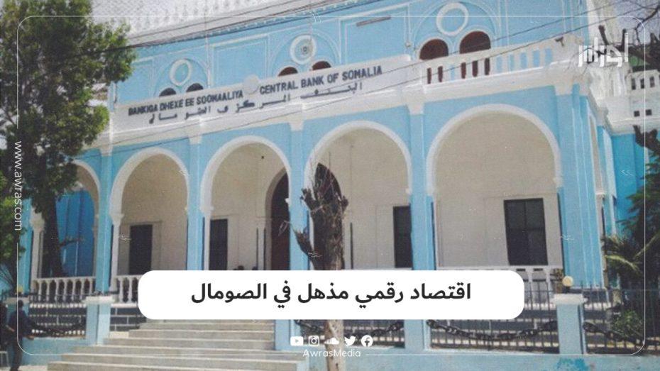 اقتصاد رقمي مذهل في الصومال