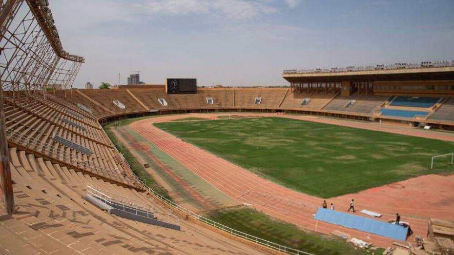 """شاهد.. آخر الصور من ملعب نيامي مسرح مباراة """"الخضر"""" والنيجر"""