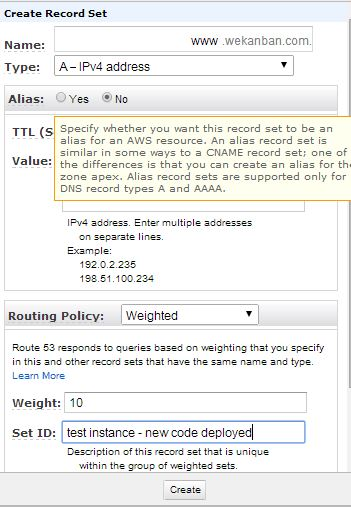 Amazon Web Services Route 53 Routing Policies