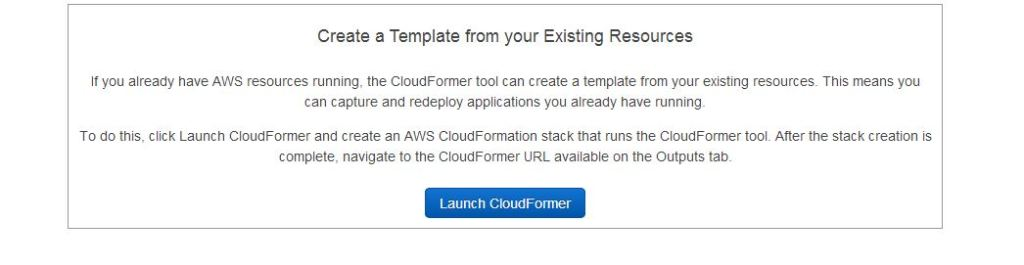 launch_cloudformer