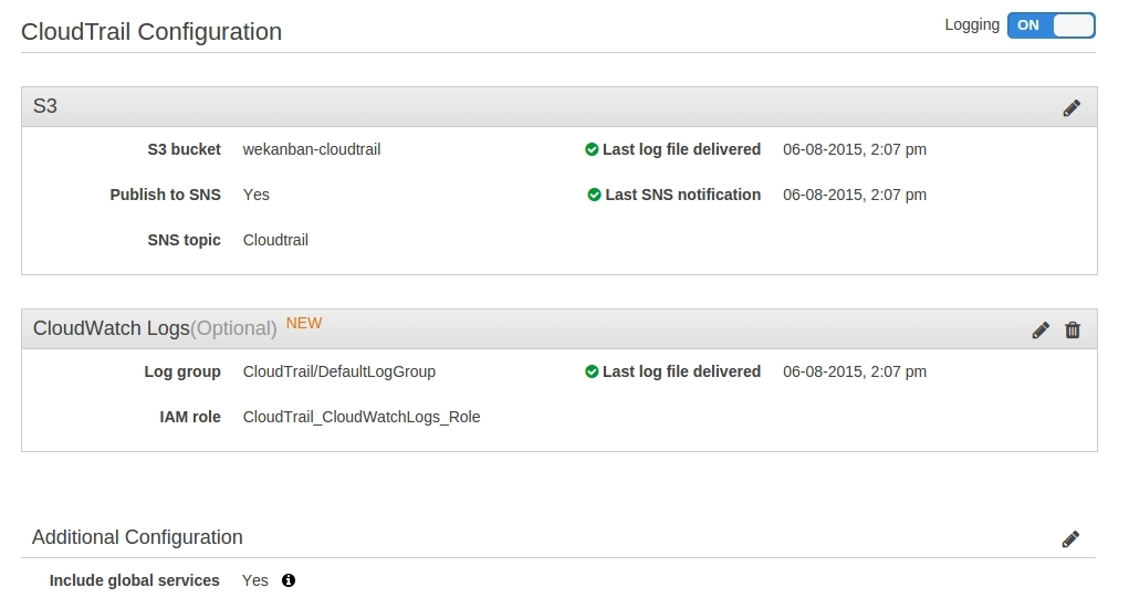 Amazon Web Services CloudTrail - AWSomeBlog