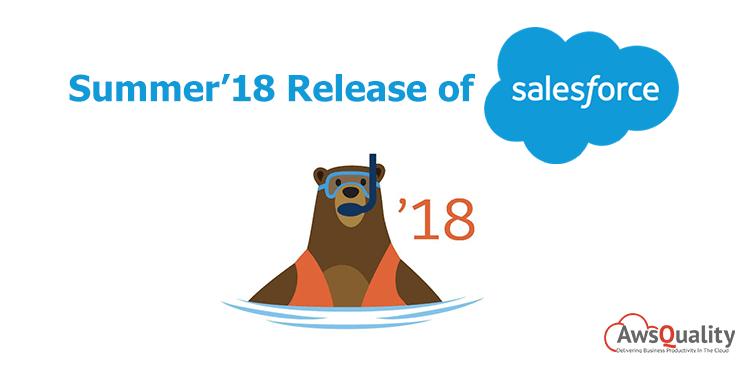 Summer 18 Release of Salesforce