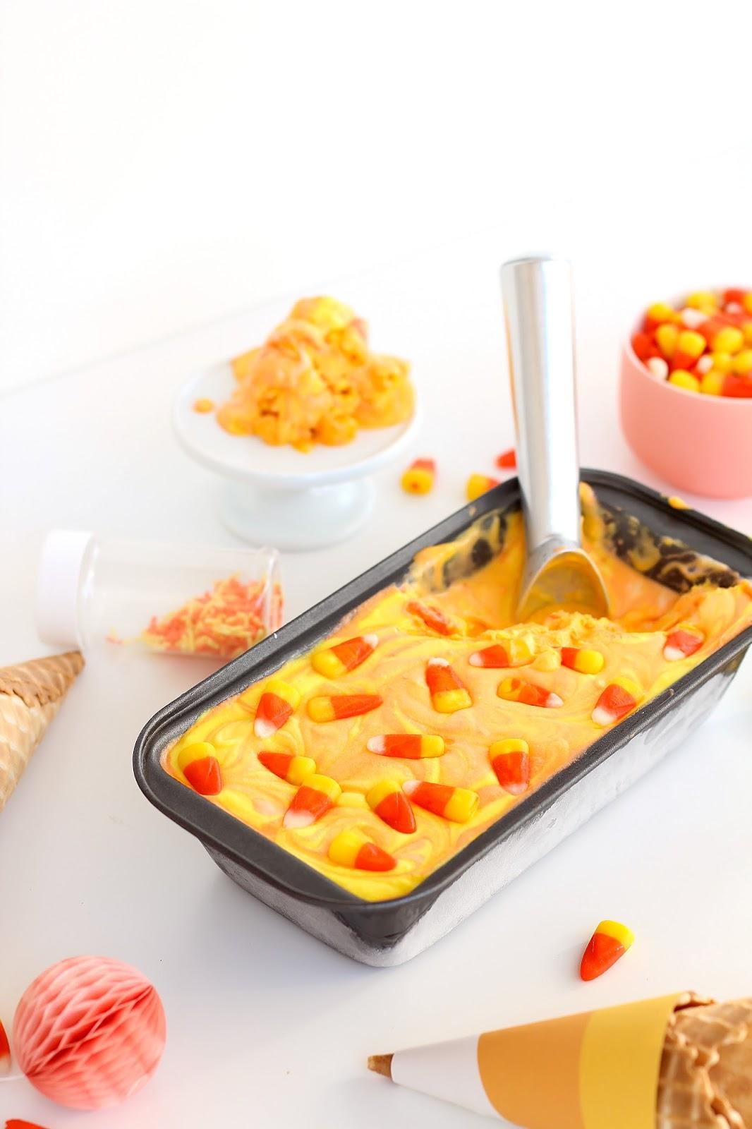 Candy Corn Ice Cream Printables