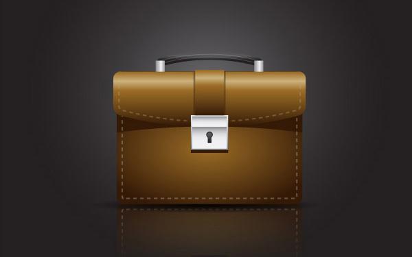 Create A Briefcase Icon
