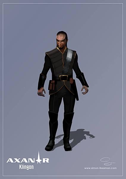 Klingon Costume 01