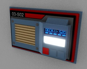 Wall Communications Panel Concept