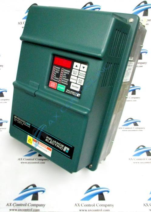 Close up image of a GV3000 Reliance VFD SE Drive.