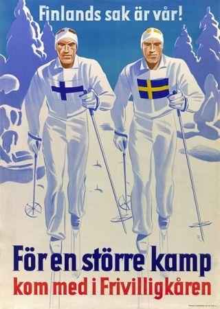 Affiche Suède - Finlande