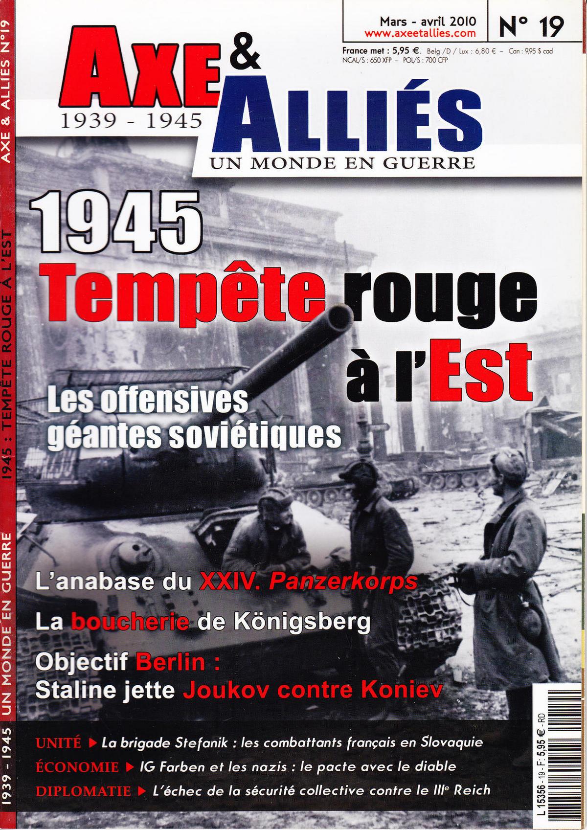 Axe & Alliés 19