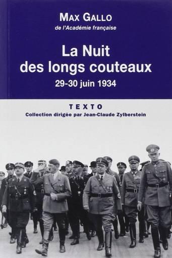 La Nuit des longs couteaux 29-30 juin 1934
