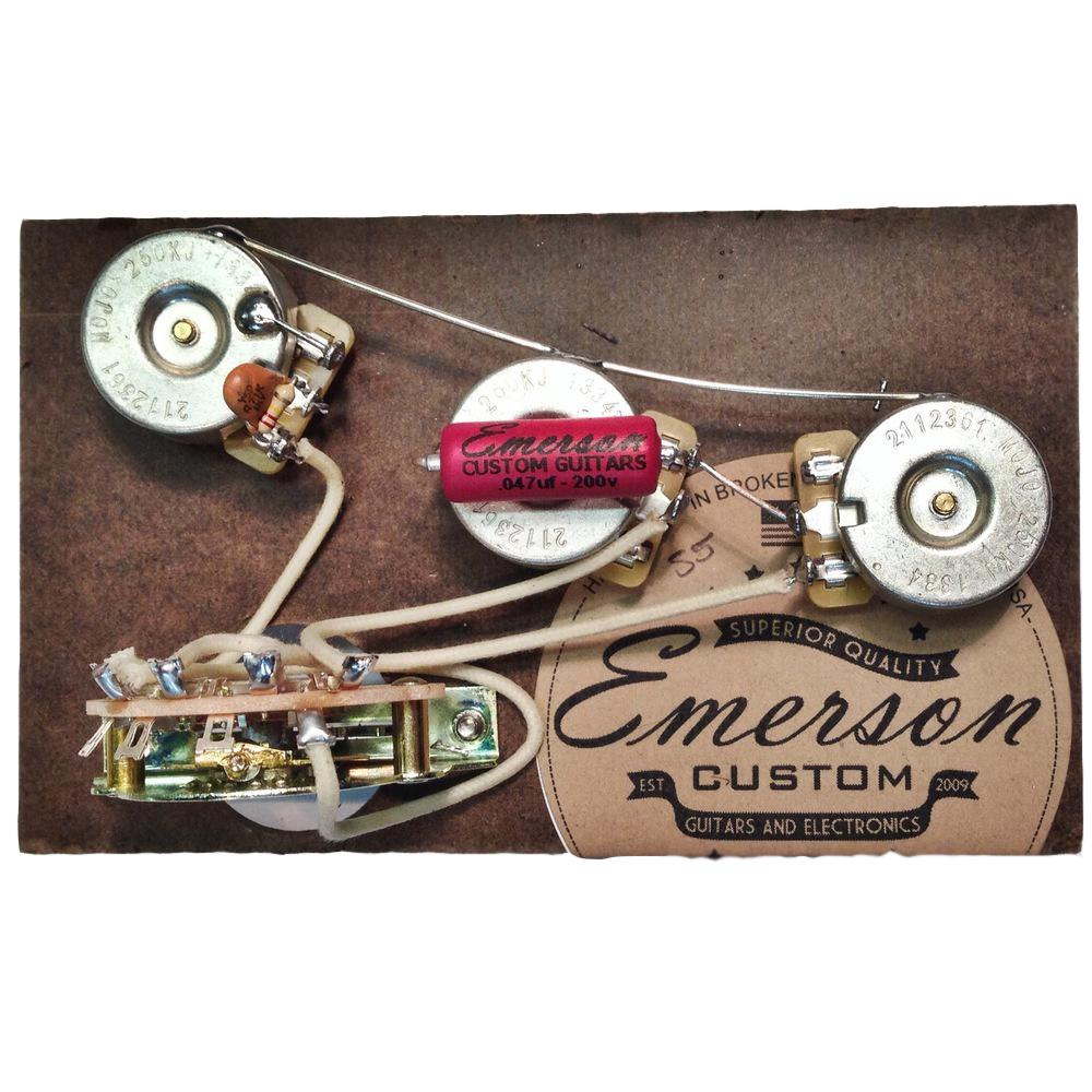 Emerson Custom 5Way Strat Prewired KIT (S5) | Axe And