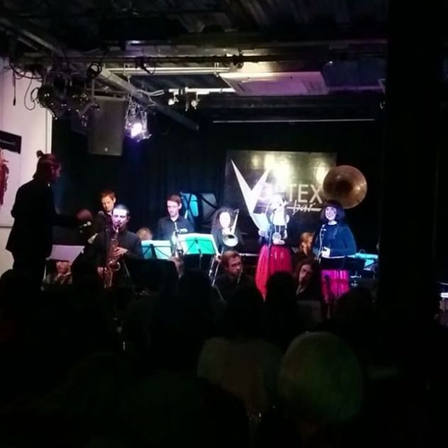 @MakMurtic's #MimikaOrchestra live tonight was a BLAST! #SlavicRhythms #Jazz #Balkan #LiveMusic