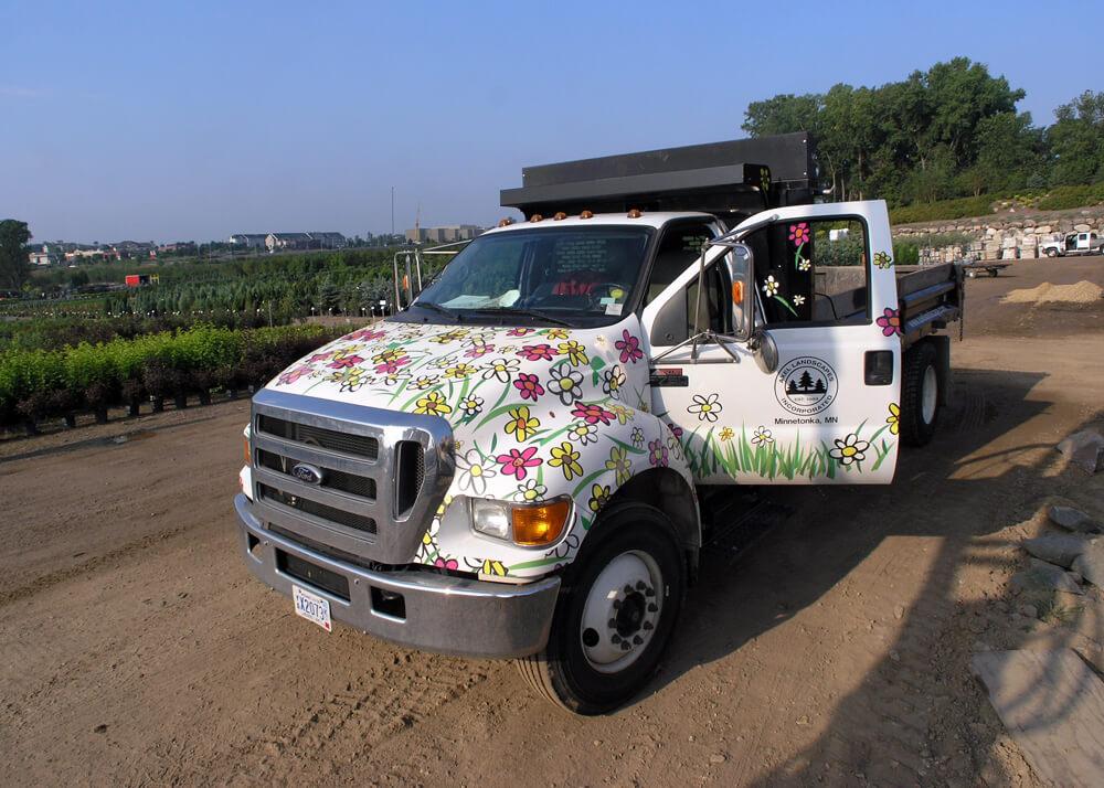 Axel Landscape Truck