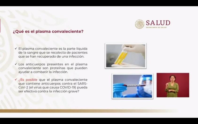 ¿Qué es el plasma convaleciente? Ilustración con explicación de qué es el plasma en la sangre