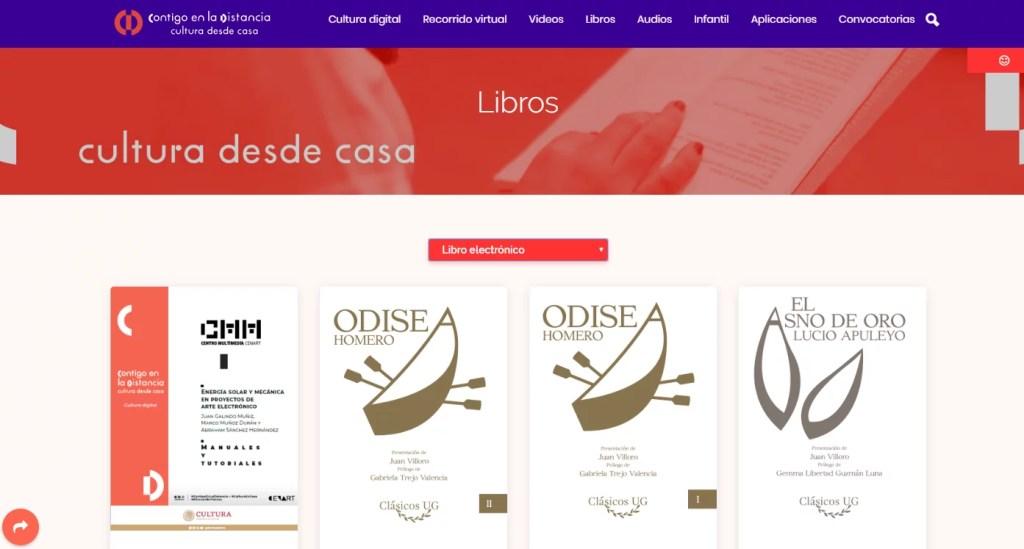 México ofrece miles de libros digitales gratis en español