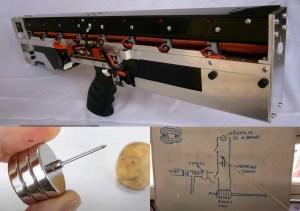 cañon de gauss arma electromagnetica